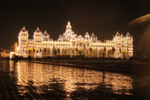 mysore-palace-night